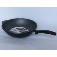 Wok Pierrestone cm 28 antiaderente Made in Italy